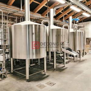 10BBL Cónico Comercial Stainles Steel Beer Brewing Equipment Fermenting Vessels Para La Venta