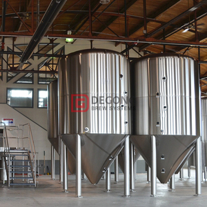 2000L Dimple Jacket Automatic Stainles Steel Beer Brewing Fermentation Tank en venta