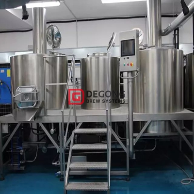 2 Recipientes 10HL Brewhouse Industrial Brewery Equipment Professional Beer Brewing Equipment Fabricante Venta caliente