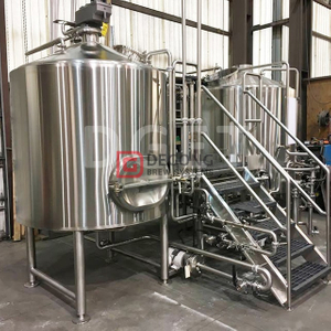 1000L Comercial Brewery SS304 / 316 Gravity Beer Brewing Equipment Brew Kettle en venta