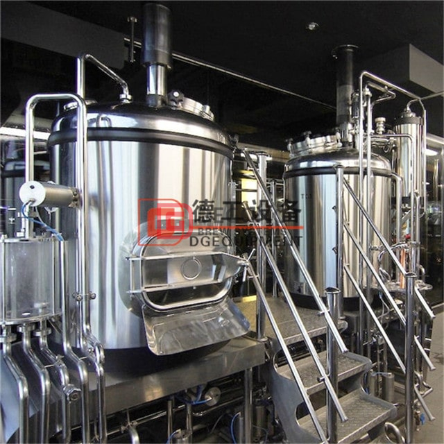 5BBL Craft Beer Brewery Stailess Steel Micro Beer Brewing Equipment con calefacción eléctrica y de vapor