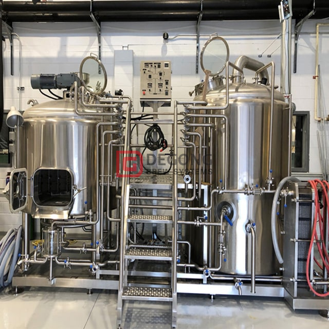 500L Craft Beer Machine sistema de elaboración de cerveza de acero inoxidable Micro Brewery Equipment Venta caliente